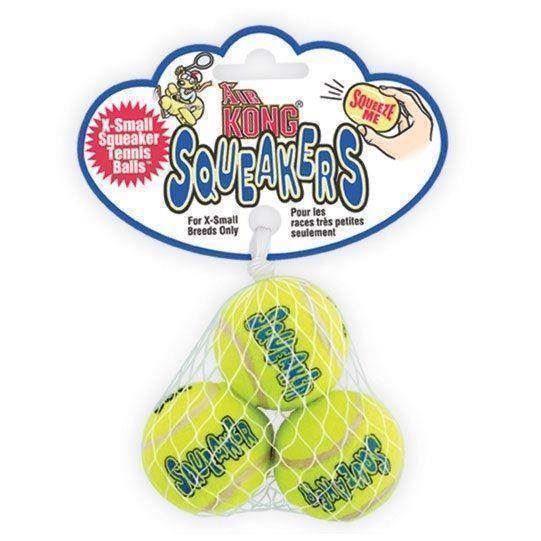 X-Small Airkong Tennisbolde, 3 Styk