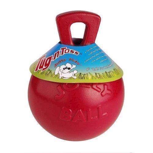 Tug-n-toss - solid kæmpebold, small fra N/A fra mypets.dk