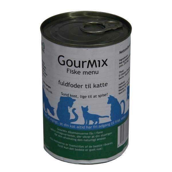 Gourmix luksusmenu til katte, med fisk smag fra N/A på mypets.dk
