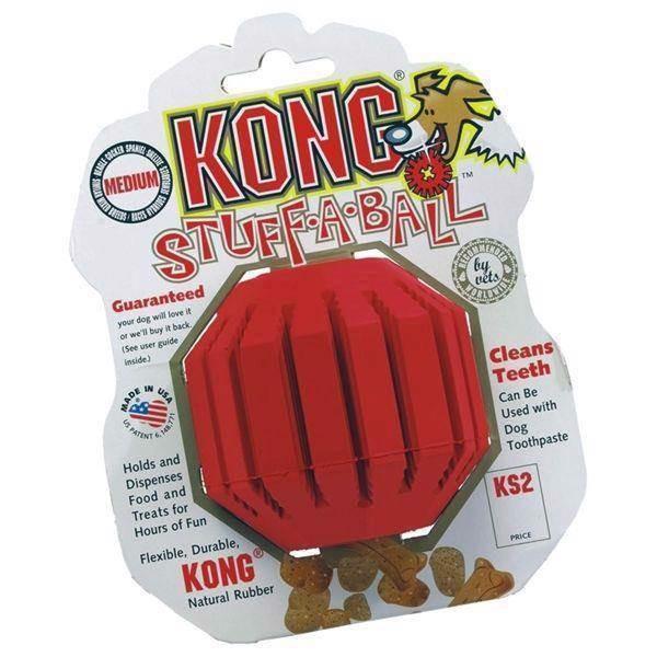 Kong stuff a ball, large fra N/A på mypets.dk