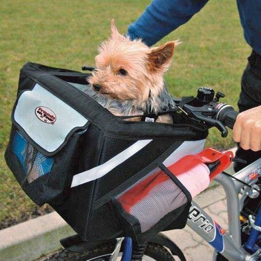 Cykeltaske front-box til hund og kat fra N/A fra mypets.dk