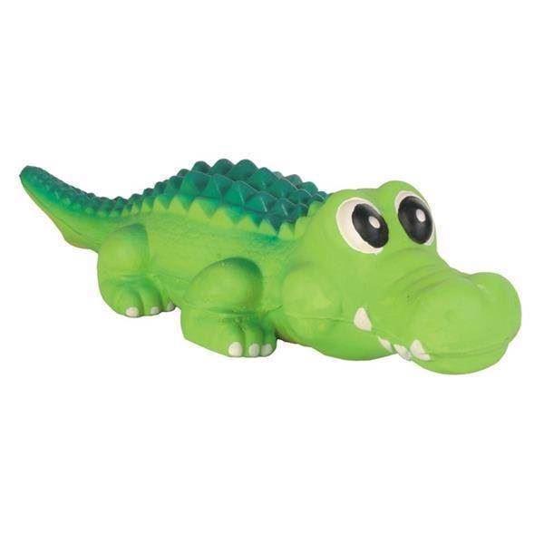 N/A – Krokodille i latex med lyd fra mypets.dk