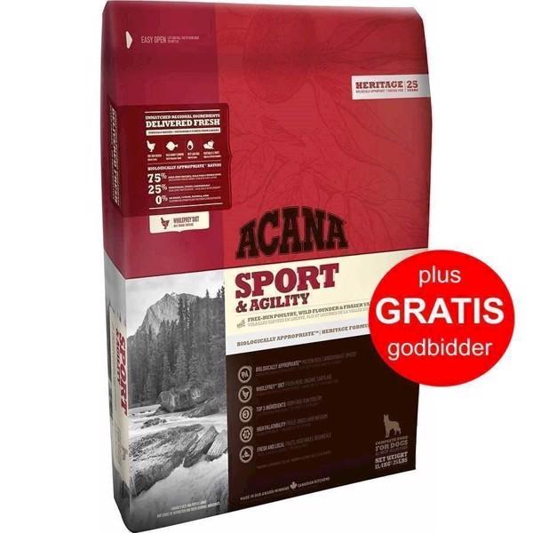 Billede af Acana Sport og Agility, Heritage, 11.4 kg
