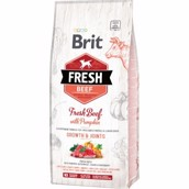 Brit Fresh Beef Puppy Large Breed, 12 kg
