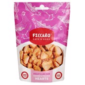FICCARO Chicken and Pollock Hearts, 100g