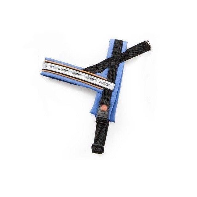 Hurtta sele i finetex, blå, 120 cm fra N/A på mypets.dk