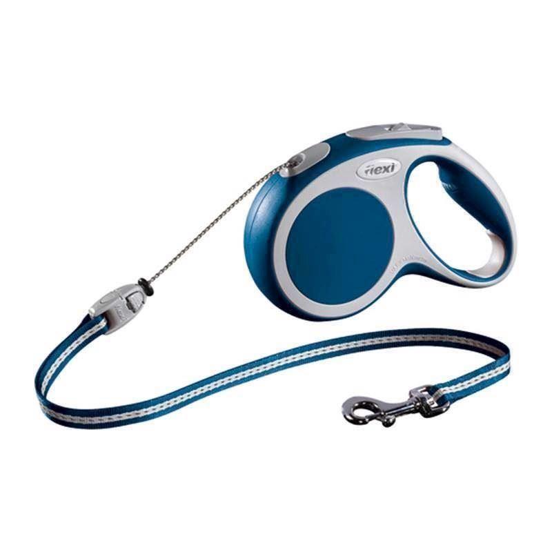 N/A – Flexi vario snorline, blå, 5 meter, 20 kg på mypets.dk