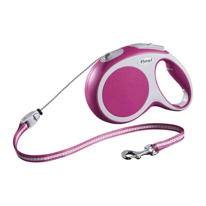N/A Flexi vario snorline, pink på mypets.dk