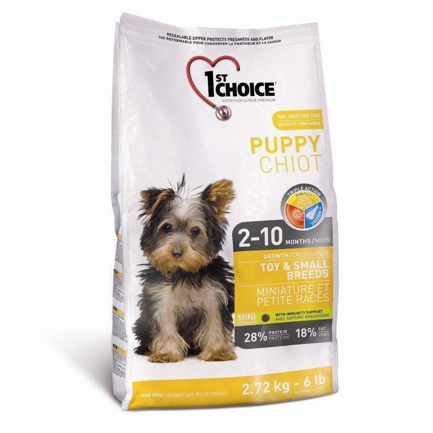N/A 1st choice puppy toy & small breeds,  2.72 kg på mypets.dk