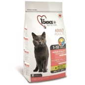 1st Choice Adult Indoor Cat, 10 kg - KORT DATO