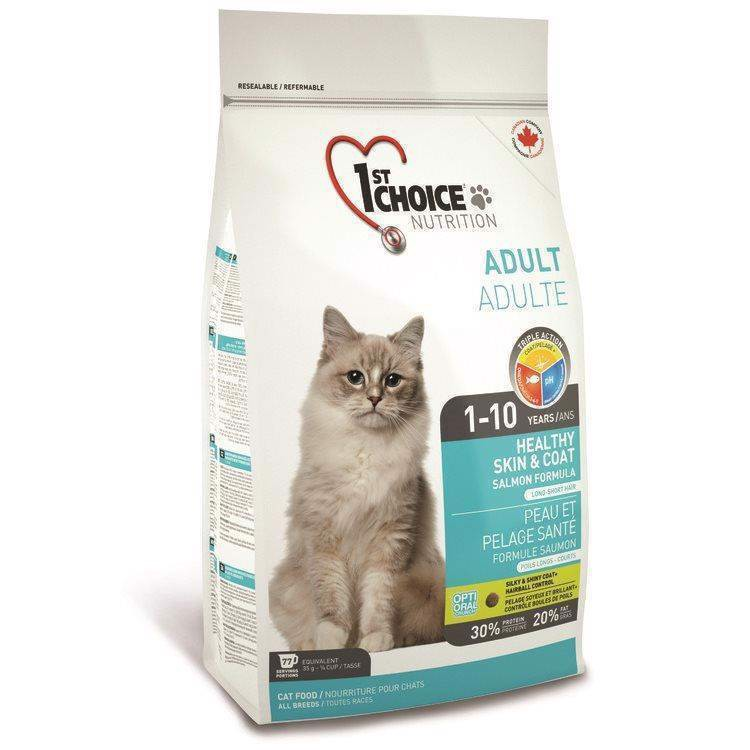 N/A 1st choice healthy skin and coat, adult kat på mypets.dk