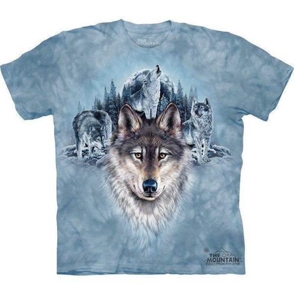 N/A – Blue moon wolves t-shirt fra mypets.dk