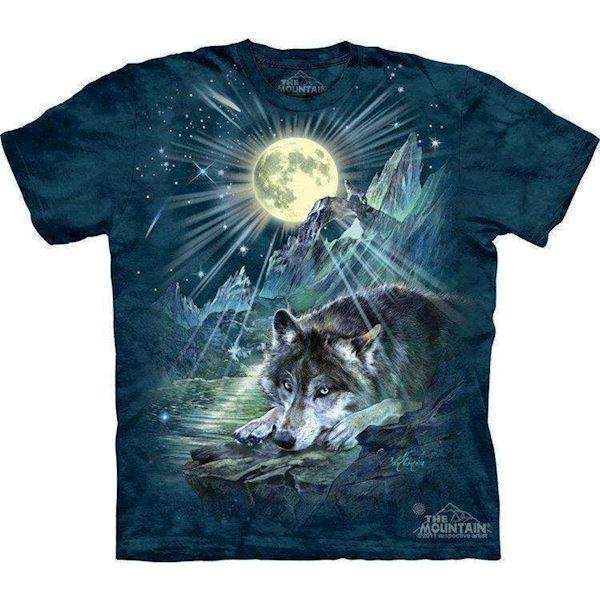 N/A – Wolf night symphony t-shirt fra mypets.dk