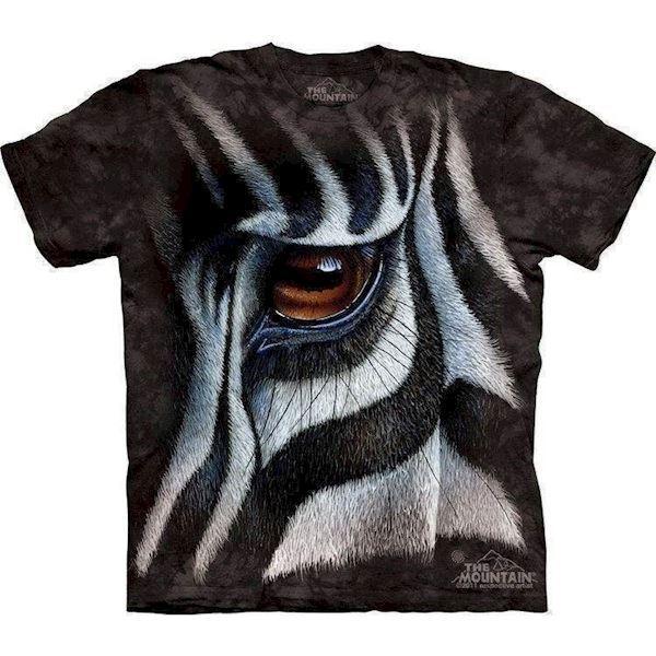 Zebra øje t-shirt fra N/A på mypets.dk