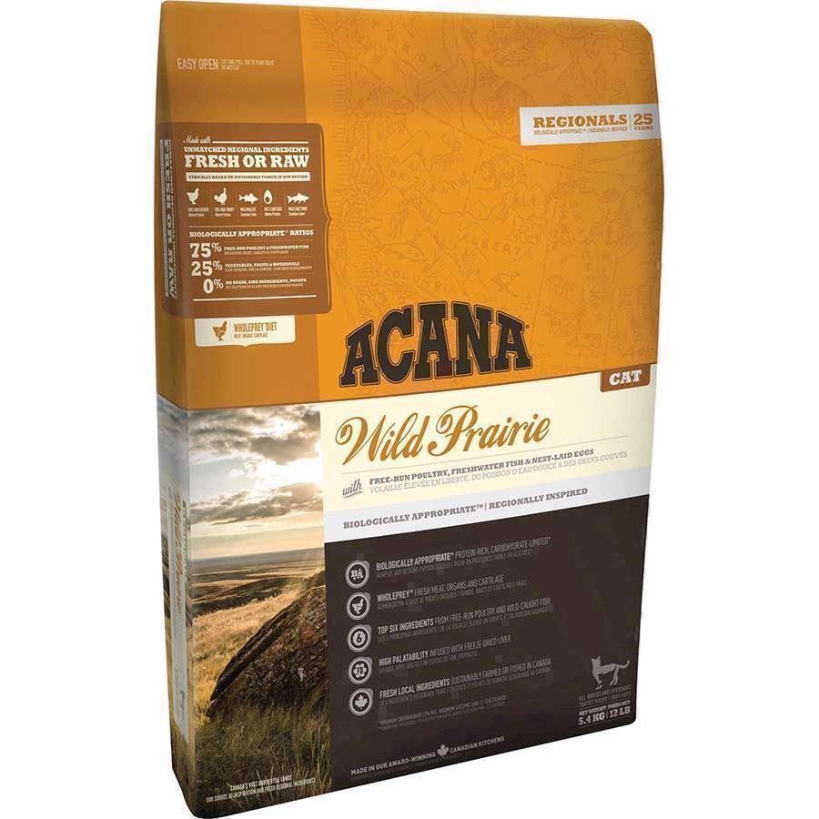 Acana wild prairie cat og kitten, regionals., 340 gr. fra N/A på mypets.dk