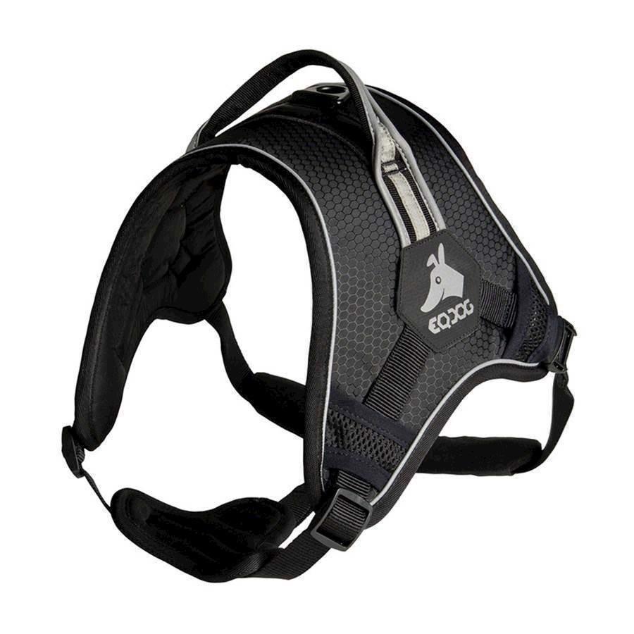N/A Eqdog classic harness sort/refleks, large på mypets.dk
