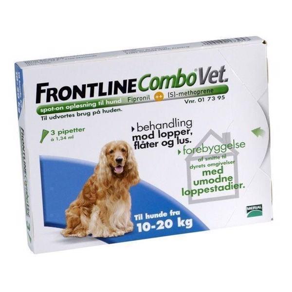N/A – Frontline combo loppemiddel til hunde 10-20 kg på mypets.dk