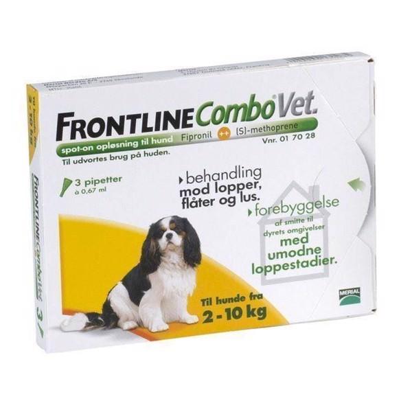N/A – Frontline combo loppemiddel til hunde 2-10 kg fra mypets.dk