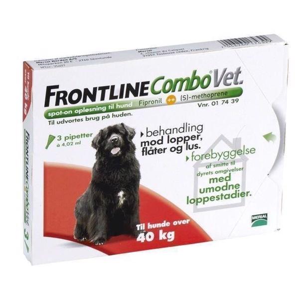 N/A – Frontline combo loppemiddel til hunde 40+ kg på mypets.dk