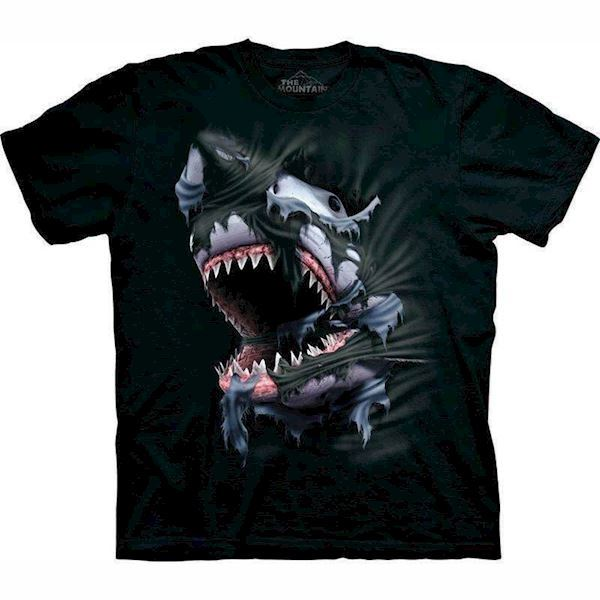 Breakthrough shark t-shirt fra N/A på mypets.dk