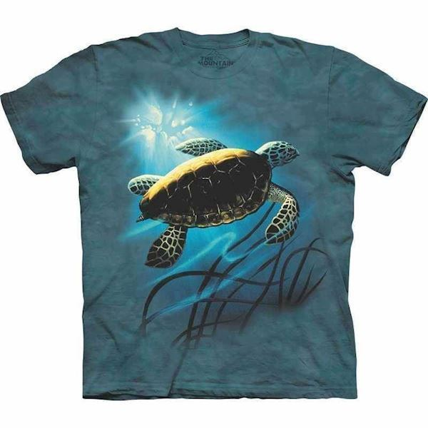 N/A – Green sea turtle t-shirt fra mypets.dk