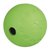 Natur gummi treat Ball, Medium 9 cm