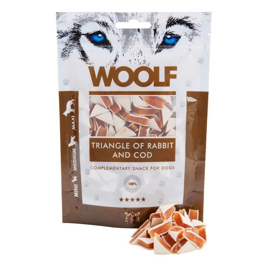 N/A Woolf rabbit and cod triangles på mypets.dk