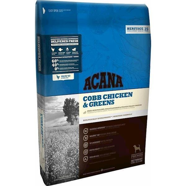 Acana Cobb Chicken and Greens, 2 kg - DATOVARE