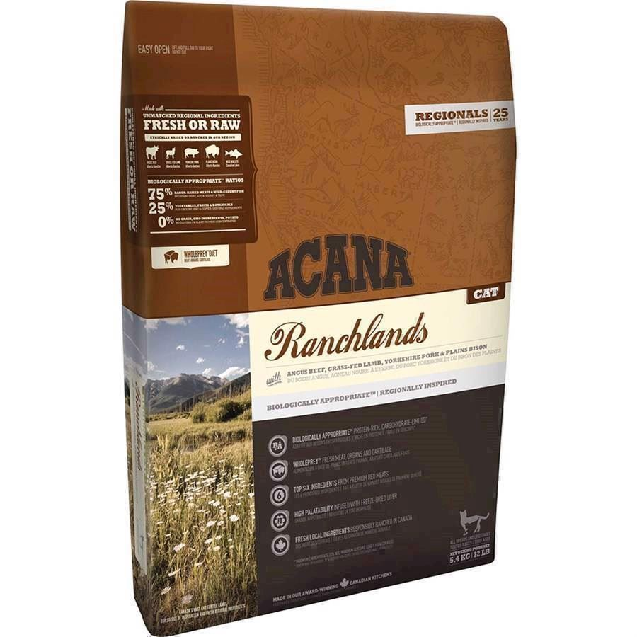 Acana Ranchlands Cat, 1.8 kg - KORT DATO