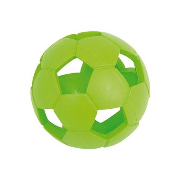 Airball, hul gummibold med store huller, small fra N/A på mypets.dk