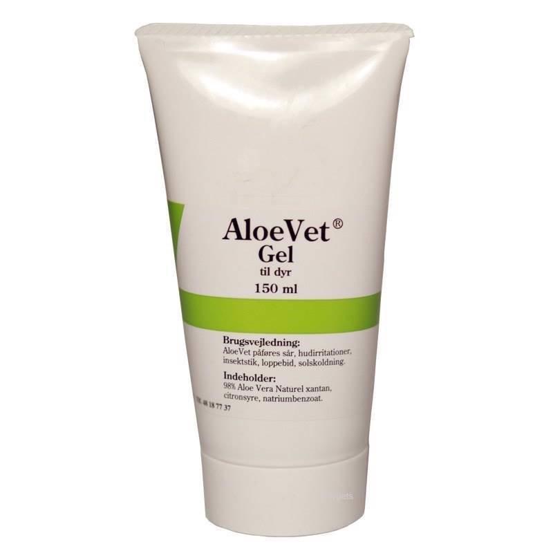 N/A – Aloevet gel til dyr - sårsalve med aloe vera, 150 ml fra mypets.dk