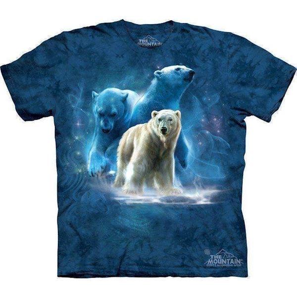 N/A T-shirt med isbjørn collage - arktiske ring fra mypets.dk