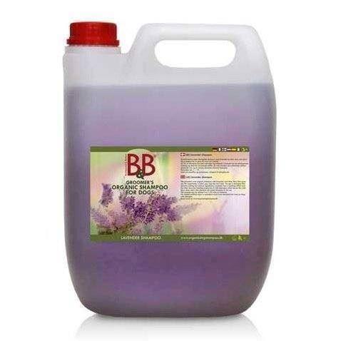 B&b shampoo med lavendel, 5 liter fra N/A på mypets.dk