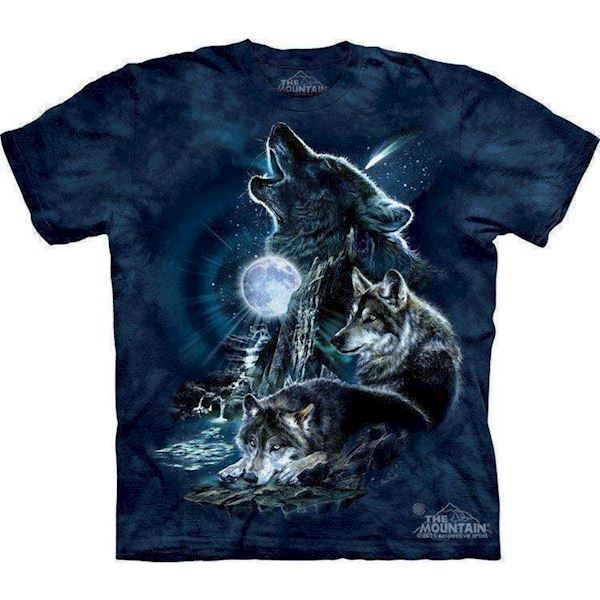 N/A Bark at the moon t-shirt fra mypets.dk
