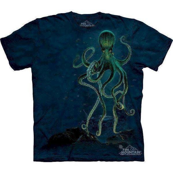 N/A – T-shirts med kæmpe blæksprutte på mypets.dk