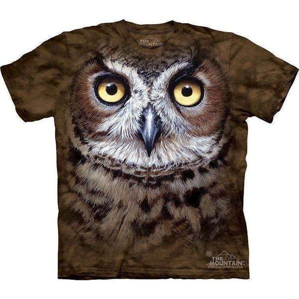 N/A – Hornugle t-shirt på mypets.dk
