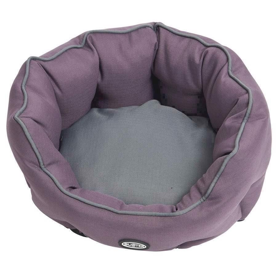 N/A Buster cocoon seng, black plum/steel grey, medium på mypets.dk