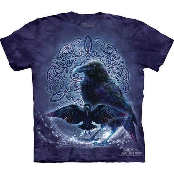 N/A Celtic raven t-shirt fra mypets.dk