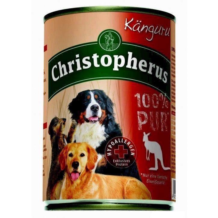 N/A – Christopherus dåsemad med kænguru - 100% rent, 400g på mypets.dk