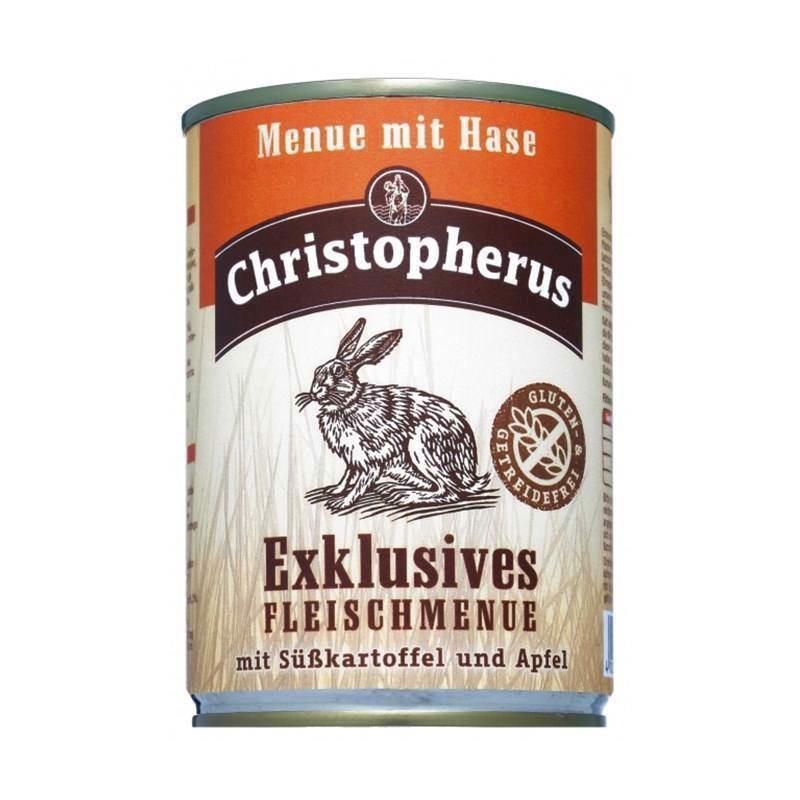 N/A Christopherus eksklusiv  med hare, 400g på mypets.dk