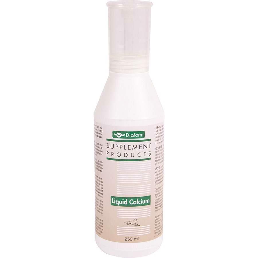 Diafarm flydende calcium, 250 ml fra N/A fra mypets.dk