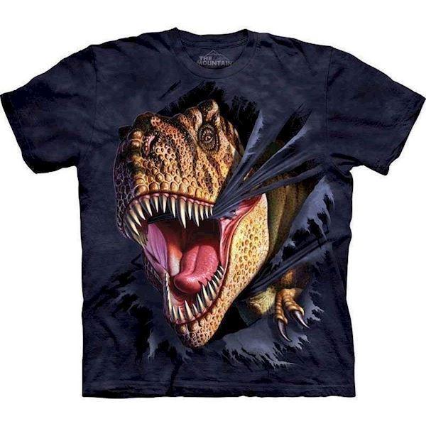N/A – T-shirt med kæmpe dinosaurus motiv fra mypets.dk