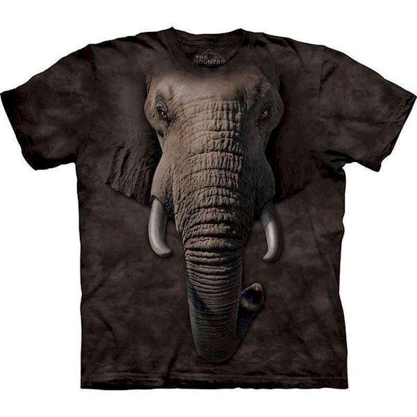 N/A – T-shirt med kæmpe elefant motiv fra mypets.dk