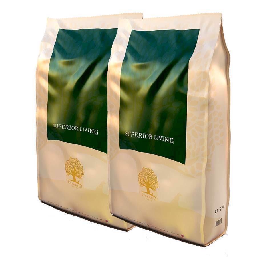 N/A – 2 x 12.5 kg essential superior living hundefoder fra mypets.dk