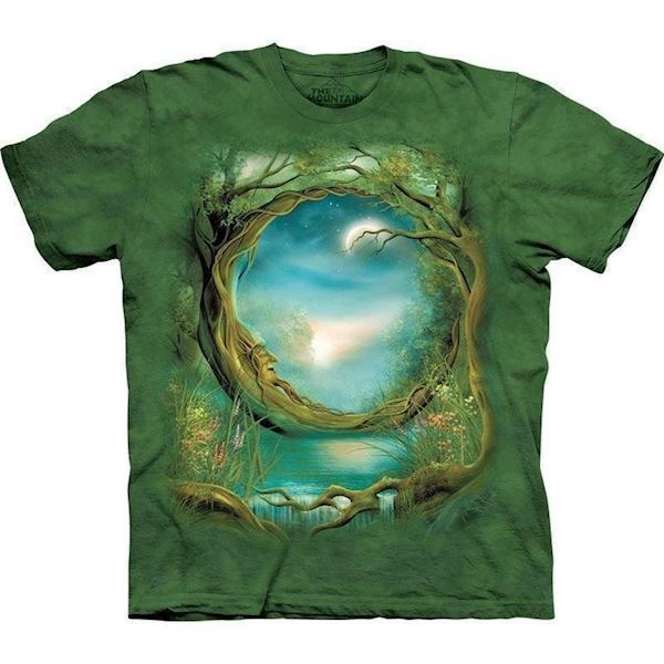 N/A Moon tree t-shirt fra mypets.dk