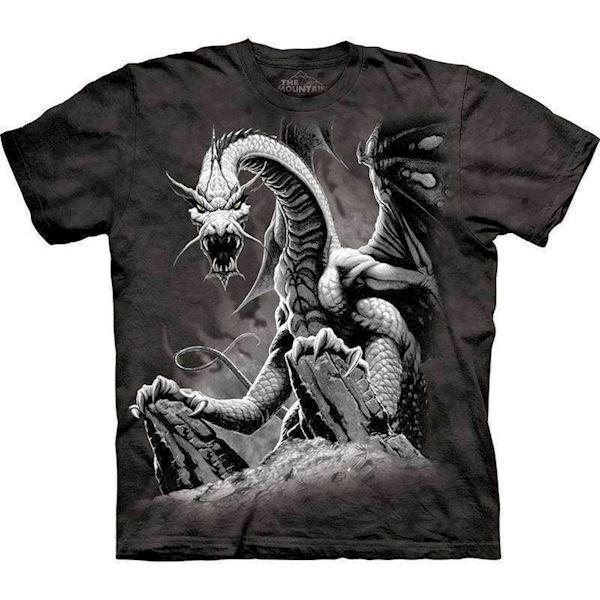 Black dragon t-shirt fra N/A på mypets.dk