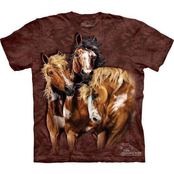 Find 8 heste t-shirt fra N/A fra mypets.dk