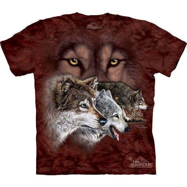 N/A – Find 9 wolves t-shirt fra mypets.dk