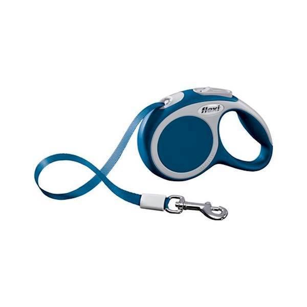 N/A Flexi vario båndline, blå, 5 m, 25 kg. på mypets.dk