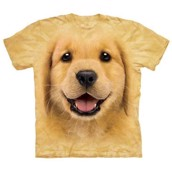 Golden Retriever Hvalp t-shirt